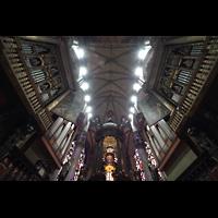 Milano (Mailand), Duomo di Santa Maria Nascente, 4-teiliger Hauptorgelkomplex in Chorraum