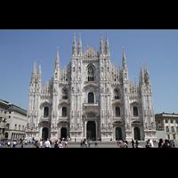 Milano (Mailand), Duomo di Santa Maria Nascente, Reich verzierte Fassade