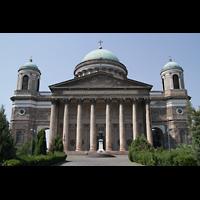 Esztergom (Gran), Bazilika Nagyboldogasszony és Szent Adalbert Föszékesegyház (St. Adalbert Basilika), Fassade