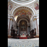 Esztergom (Gran), Bazilika Nagyboldogasszony és Szent Adalbert Föszékesegyház (St. Adalbert Basilika), Chorraum