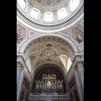 Esztergom (Gran), Bazilika Nagyboldogasszony és Szent Adalbert Föszékesegyház (St. Adalbert Basilika), Orgel und Kuppel
