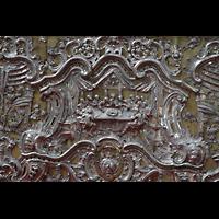 Esztergom (Gran), Bazilika Nagyboldogasszony és Szent Adalbert Föszékesegyház (St. Adalbert Basilika), Detail am Altar