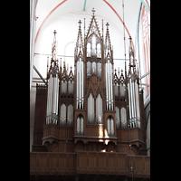 Schwerin, Dom St. Maria und St. Johannes, Orgelprospekt