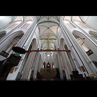 Schwerin, Dom St. Maria und St. Johannes, Vierung und Chorraum in Richtung Chor