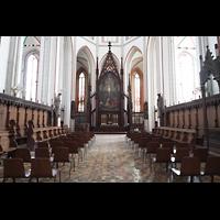 Schwerin, Dom St. Maria und St. Johannes, Chorraum mit Hochaltar