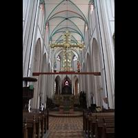 Schwerin, Dom St. Maria und St. Johannes, Chorraum mit Lettner
