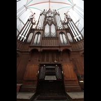 Schwerin, Dom St. Maria und St. Johannes, Orgel mit Spieltisch