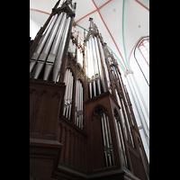Schwerin, Dom St. Maria und St. Johannes, Orgelproepskt von der Seite