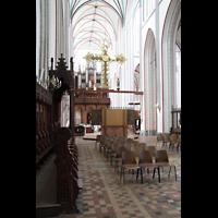Schwerin, Dom St. Maria und St. Johannes, Blick vom Chorraum zum Lettner und zur Orgel