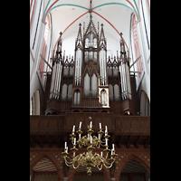 Schwerin, Dom St. Maria und St. Johannes, Orgelempore