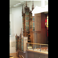 Berlin (Tiergarten), Musikinstrumenten-Museum - Gray-Orgel, Gesamtansicht der Gray-Orgel