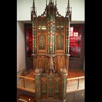 Berlin (Tiergarten), Musikinstrumenten-Museum - Gray-Orgel, Prospekt der Gray-Orgel