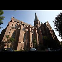 Dortmund (Hörde), Stiftskirche St. Clara, Seitenansicht