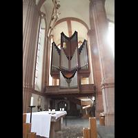 Himmerod, Zisterzienserabtei, Orgelempore im Querhaus