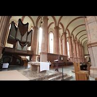 Himmerod, Zisterzienserabtei, Orgel und Langhaus