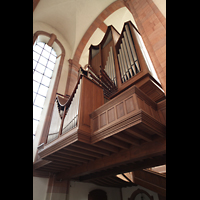 Himmerod, Zisterzienserabtei, Orgel von unten