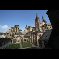 Trier, Dom St. Peter (Kryptaorgel), Kreuzgang und Dom
