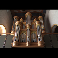 Trier - Pfalzel, Marienstiftskirche, Rückpositiv