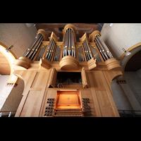 Trier - Pfalzel, Marienstiftskirche, Orgel mit Spieltisch