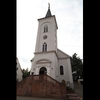 Völklingen - Ludweiler, Hugenottenkirche, Turm
