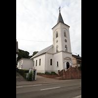 Völklingen - Ludweiler, Hugenottenkirche, Außenansicht