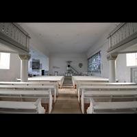 Völklingen - Ludweiler, Hugenottenkirche, Innenraum