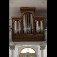 Völklingen - Ludweiler, Hugenottenkirche, Orgel
