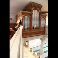 Völklingen - Ludweiler, Hugenottenkirche, Orgelempore
