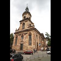 Saarbrücken, St. Johann Basilika, Fassade und Turm