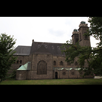 Saarbrücken, St. Michael, Seitenansicht