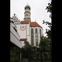 Augsburg, St. Ulrich und Afra, Chor und Turm