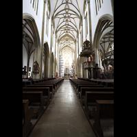 Augsburg, St. Ulrich und Afra, Innenraum in Richtung Chor