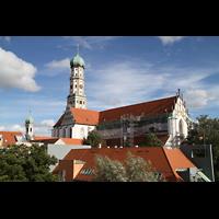 Augsburg, St. Ulrich und Afra, Außenansicht