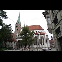 Augsburg, Dom St. Maria (Langhausorgel), Ansicht von Süden