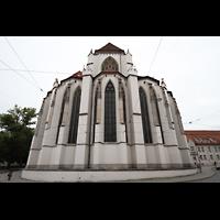 Augsburg, Dom St. Maria (Langhausorgel), Gotischer Chor