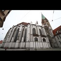 Augsburg, Dom St. Maria (Langhausorgel), Ansicht von Norden