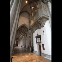 Augsburg, Dom St. Maria (Langhausorgel), Südlicher Chorumgang mit Rückseite der Maerz-Orgel