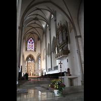 Augsburg, Dom St. Maria (Langhausorgel), Ostchor mit Maerz-Orgel