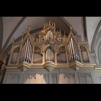 Augsburg, Dom St. Maria (Langhausorgel), Rückseite der Maerz-Orgel
