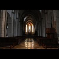 Augsburg, Dom St. Maria (Langhausorgel), Blick von der Vierung zum Westchor