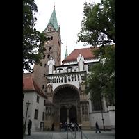 Augsburg, Dom St. Maria (Langhausorgel), Südportal