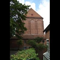 Augsburg - Lechhausen, St. Elisabeth, Außenansicht Chor