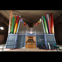 Augsburg - Lechhausen, St. Elisabeth, Orgelempore