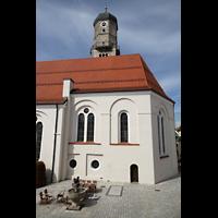 Weilheim, Mariae Himmelfahrt, Chor und Turm