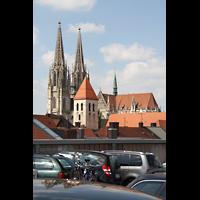 Regensburg, Dom St. Peter, Gesamtansicht von außen