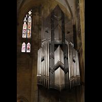 Regensburg, Dom St. Peter, Große Orgel im nördlichen Querhaus