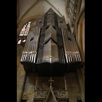 Regensburg, Dom St. Peter, Prospekt der Rieger-Orgel