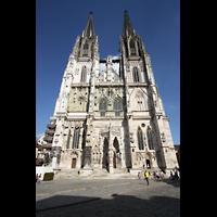 Regensburg, Dom St. Peter, Westfassade