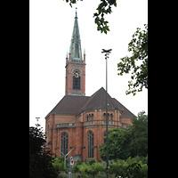 Düsseldorf, Johanneskirche, Außenansicht
