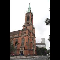Düsseldorf, Johanneskirche, Seitenansicht